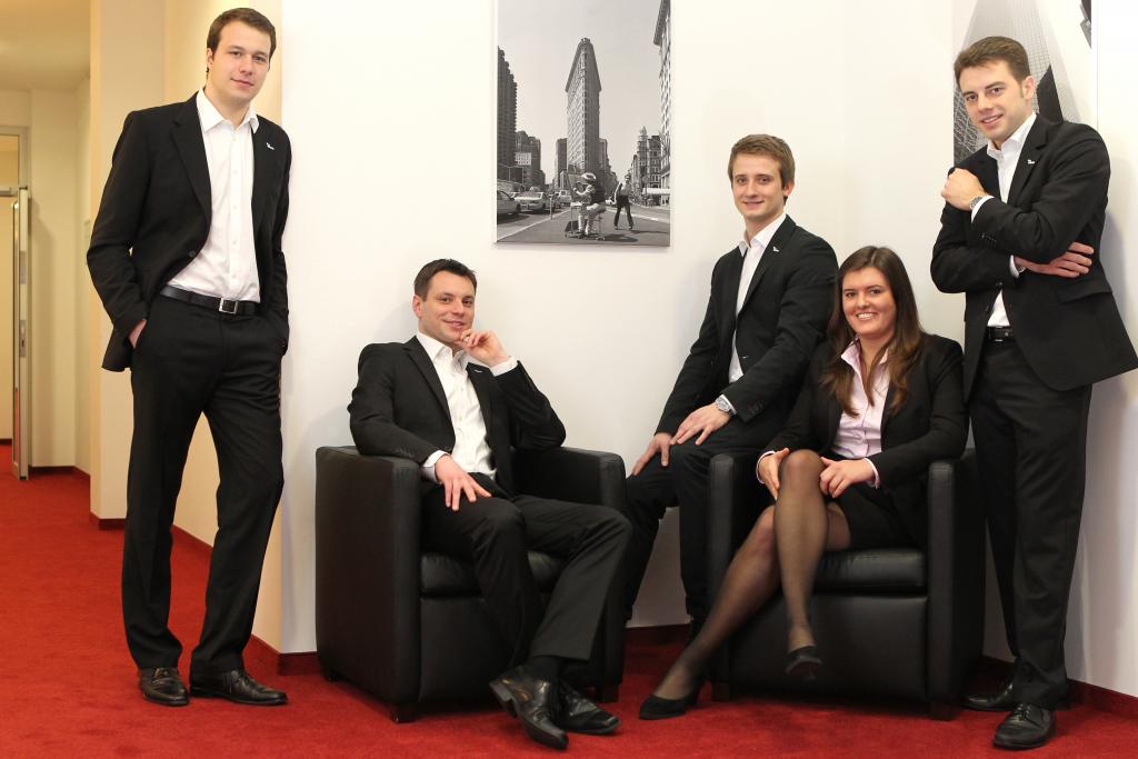 VWI-ESTIEM Aachen Vorstandsfoto 2013-2014